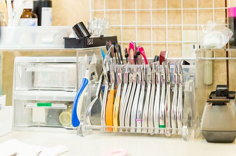 削る器具専用洗浄消毒器